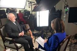 مصاحبه ظریف با شبکه سی بی اس