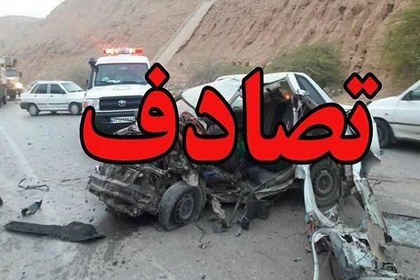 حادثه رانندگی ۱ کشته و ۴ زخمی درپی داشت
