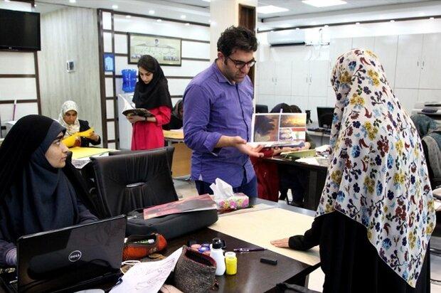 کارگاه آموزش تصویر سازی هنر عاشورایی در بوشهر برگزار شد