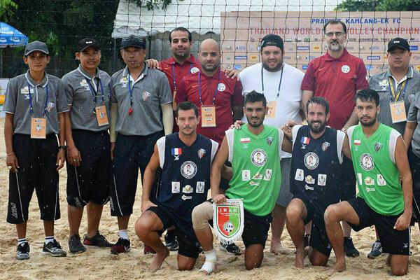 İran Milli Footvoley Takımı dünya ikincisi oldu