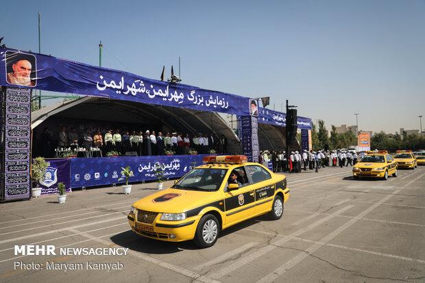 Grand Maneuver of Safe Mehr, Safe City in Tehran's Velayat Park