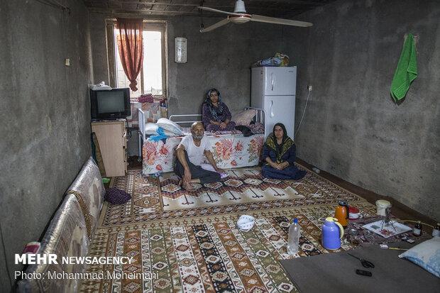 Sel felaketinin yaşandığı Akkale'den kareler