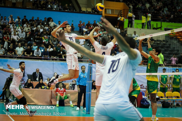 Iran squad named for FIVB Volleyball World Cup