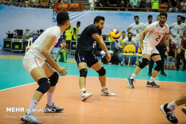 دیدار تیم های والیبال ایران واسترالیا