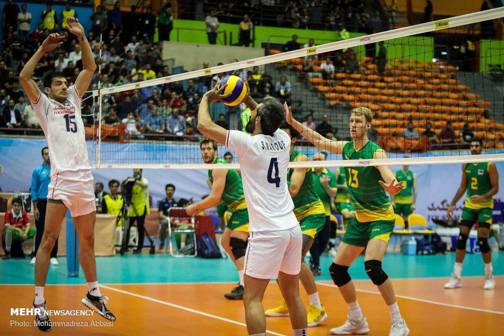 ایران – استرالیا؛ شکست در ست نخست با اشتباهات بازیکنان