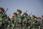 مراسم العروض العسكرية في تبريز /صور