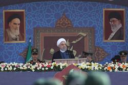 تہران میں مسلح افواج کی شاندار پریڈ