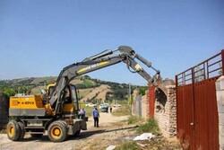 رفع تصرف ۶۴ هکتار از اراضی ملی همجوار با پروژه همت