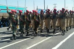 رژه با شکوه نیروهای مسلح در سیستان و بلوچستان برگزار شد