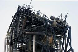 خسائر منشآت أرامكو جراء هجوم طائرات انصار الله / صور