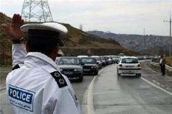 اجرای طرح ترافیکی اربعین در مسیر تردد زوار