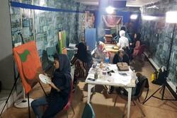 ورکشاپ دو روزه نقاشی عاشورایی در شهر یاسوج برگزار شد