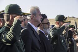 تبریز میں شاندار فوجی پریڈ