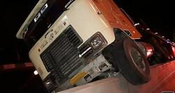 چهار نفر در تصادف تریلی و وانت کشته شدند