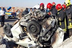تصادفات جاده ای خراسان جنوبی ۸۶ مجروح و ۷ کشته برجای گذاشت