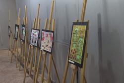 نمایشگاه نقاشی کودکانه های آموزشگاه هنر سرا در سنندج برپا می شود
