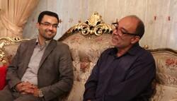 دیدار مسئول بسیج رسانه فارس با خانواده شهید رسانه