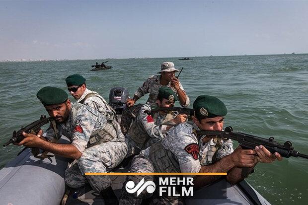عملیات ویژه تکاوران نیروی دریایی سپاه و ارتش در خلیج تا ابد فارس