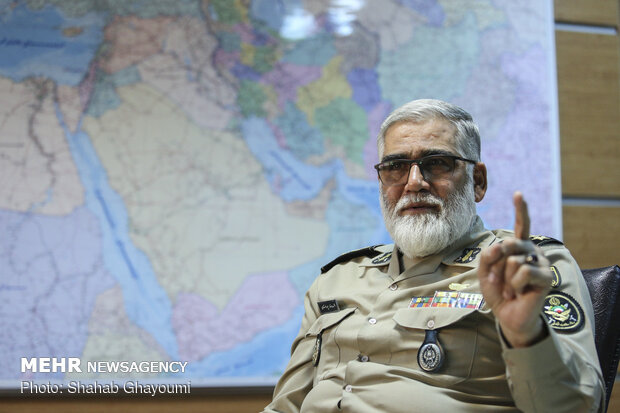 Some military drills undisclosed to public, says cmdr. Pourdastan