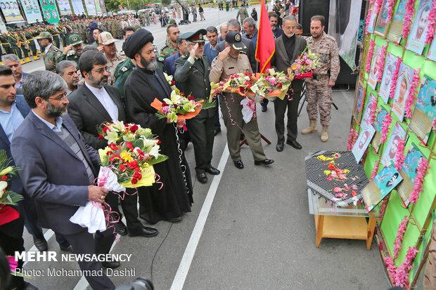 مراسم رژه نیروهای مسلح در اردبیل
