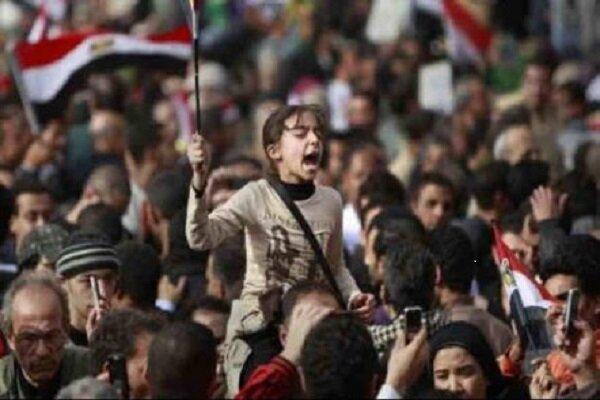 شمار معترضان بازداشتی در مصر به حدود ۲ هزارنفر رسید
