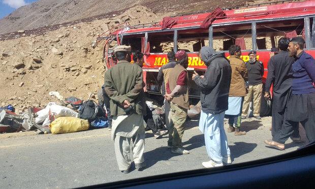 پاکستان میں ٹریفک حادثے میں 11 افراد ہلاک