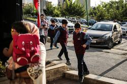 بدء العام الدراسي الجديد في ايران / صور