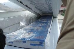 ۵.۷ تن گوشت مرغ قاچاق کشف و ضبط شد