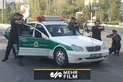 شلیک پلیس به سارق در خیابانهای تهران