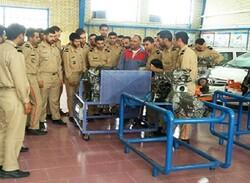 تمام سربازان نیروی انتظامی استان بوشهر باید آموزش مهارتی ببیند