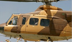 IRGC receives four homegrown helicopters