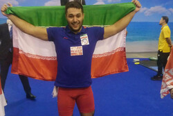 Iran's Miri snatches silver at 2019 IWF World C'ships