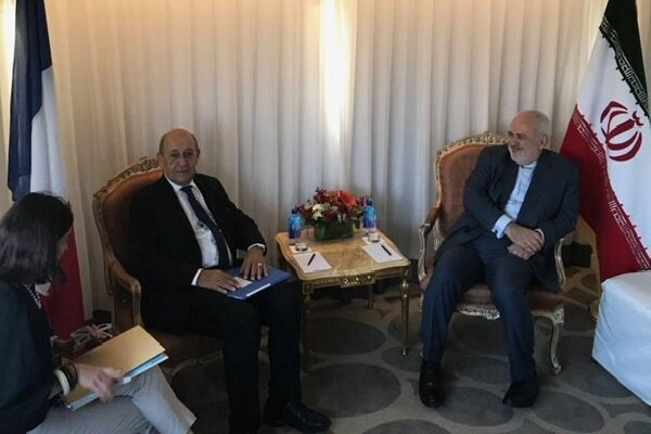 Iran's Zarif meets with French, Danish counterparts in NY