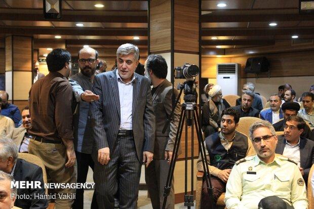 مراسم تقديم المدير الجديد لوكالة مهر للأنباء وتوديع المدير السابق