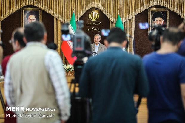 المؤتمر الصحفي للمتحدث باسم الحكومة