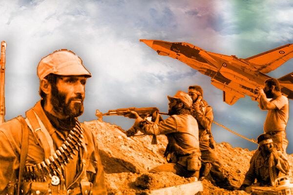 ملت ایران قهرمانان دوران دفاع مقدس هستند