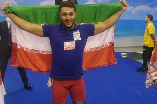 علی میری نایب قهرمان دسته ۸۹ کیلوگرم جهان شد