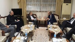 Iranian diplomat, UN Syria envoy meet in Lebanon