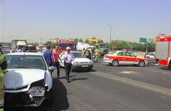 آمار تصادفات منجر به فوت در طرح تابستانه راهور/ فارس در صدر و اردبیل در قعر جدول تلفات جادهای