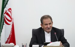 VP Jahangiri hails Iran-China's 'amicable, historic' ties