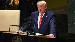 Trump in the UN general assembly