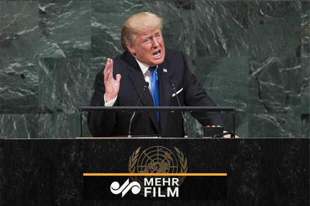 مزخرفگویی ترامپ این بار در مجمع عمومی سازمان ملل