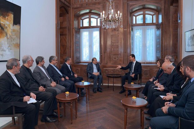 Iran determined to find political solutions for Syrian crisis