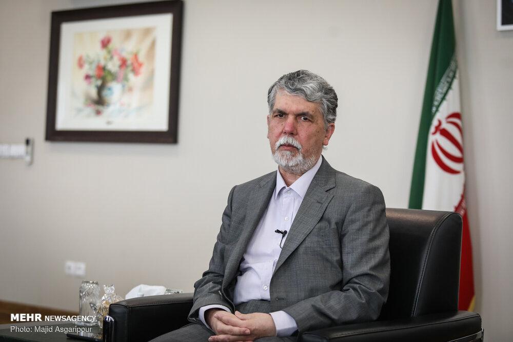قدردانی وزیر فرهنگ و ارشاد اسلامی از برگزاری دو رویداد هنری