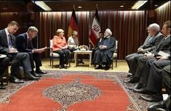 VIDEO: Rouhani-Merkel meeting in New York