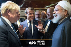 VIDEO: Sudden meeting of Iranian, French and British leaders in NY