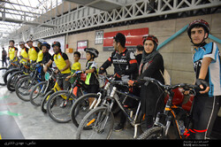 Tehran metro hosts 13,000 cyclists in 10 months