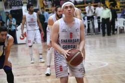 مبین شیخی قراردادش را با تیم بسکتبال شهرداری گرگان تمدید کرد