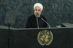 Rouhani meets with UN secretary General, Irish president