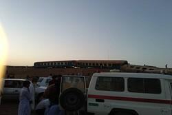 """خروج قطار """"زاهدان-طهران"""" عن مساره  يؤدي الى اصابة عدد من الركاب"""